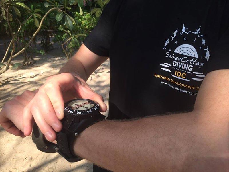 MSDT Koh Tao Thailand Navigation Instructor