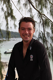 PADI Course Director Marcel van den Berg IDC Sairee Cottage Diving