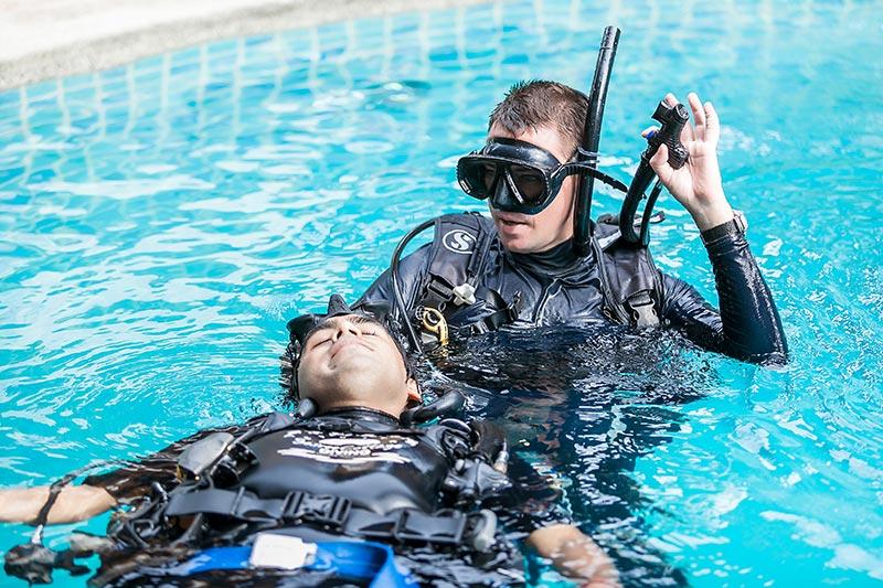 PADI Rescue Diver IDC Marcel Van Den Berg