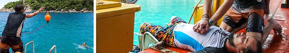PADI Rescue Diver Scuba Diving Koh Tao Thailand