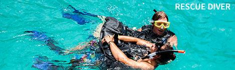 Rescu Diver Koh Tao Thailand