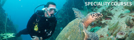 Speciality Courses Scuba Diving Koh Tao Thailand