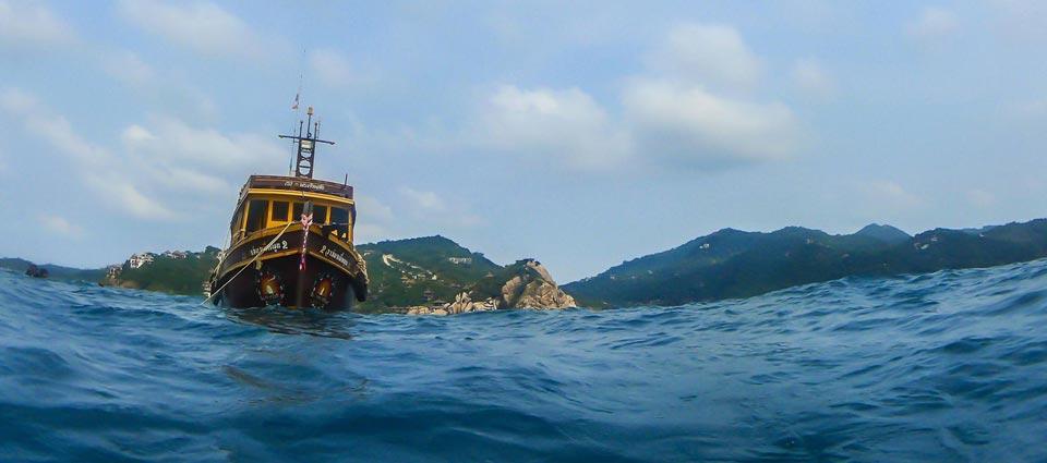 Sairee Cottage Dive Boat