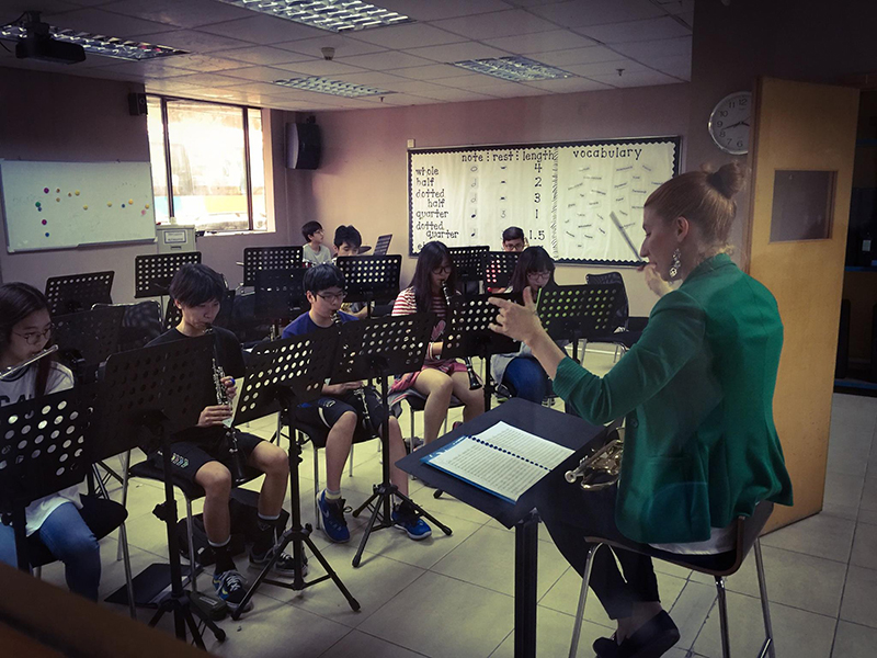 Genevieve Goulet Music Teacher In China