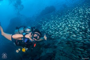 Scuba Diving easy for women and girls