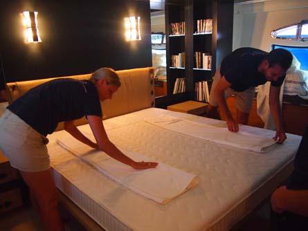 Towel Art Galileo Super Yacht Training