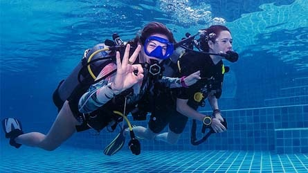 Open Water Diver Course Superyacht Diving