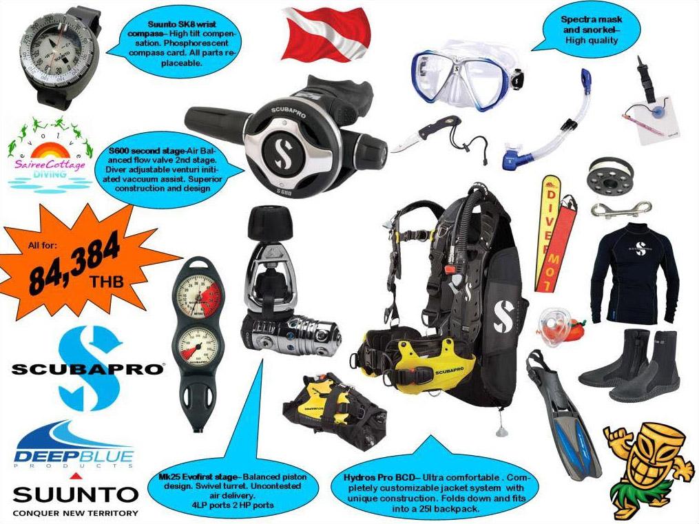 Divemaster Platinum Equipment Package