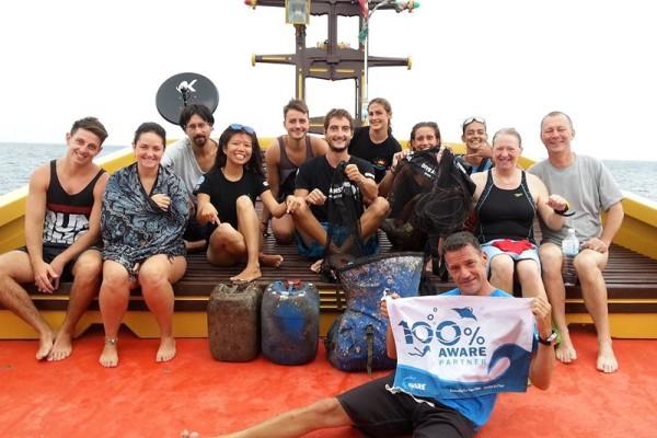 Diving Koh Tao to Keep our Ocean Clean