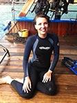 Hannah Blake PADI Diving Instructor MSDT