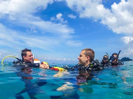 Best Diving Instructor Super Yacht Training