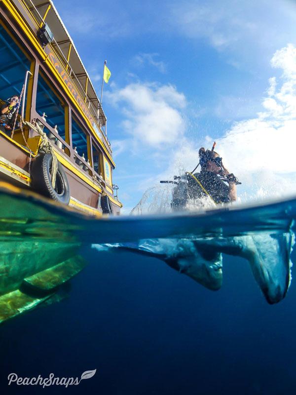 Ready to go scuba diving padi Divemaster course Koh Tao